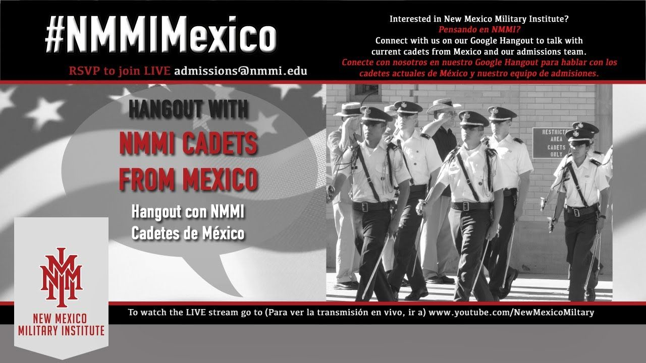 Cadets From Mexico Cadet Mexico Google Hangouts