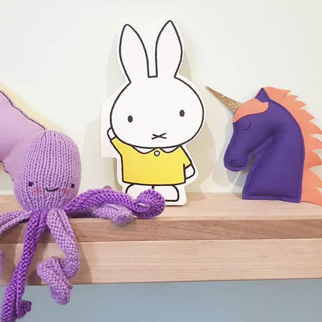 Purple Shelf Decor And Miffy Hellolittlelife Handmade Knit