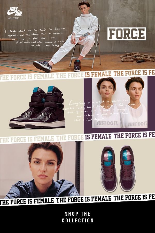 The Force Reckoned Ruby Rose A Nike 1 To Air New Is Be In With SpUzVM