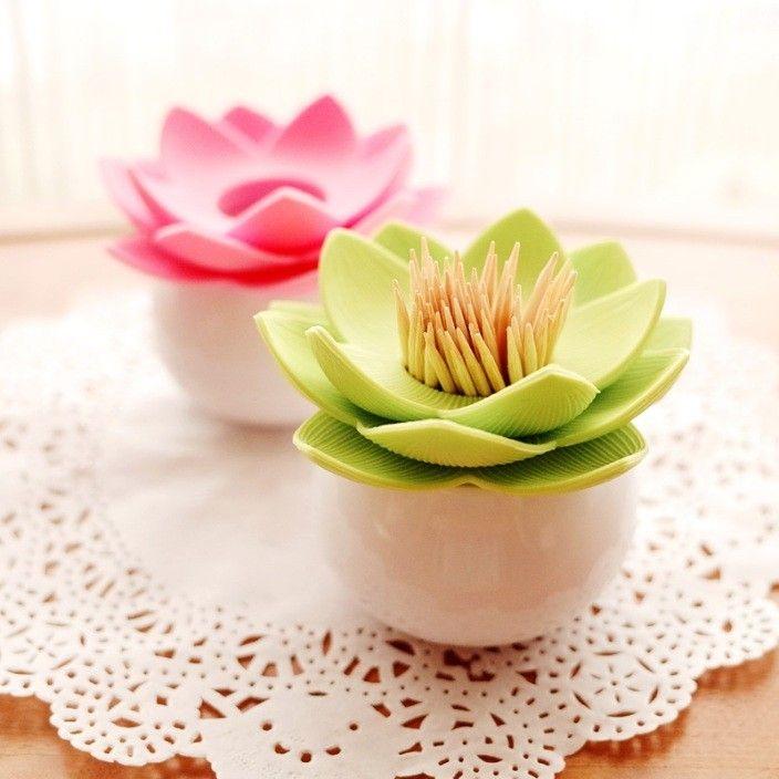 Lotus Toothpick Holder