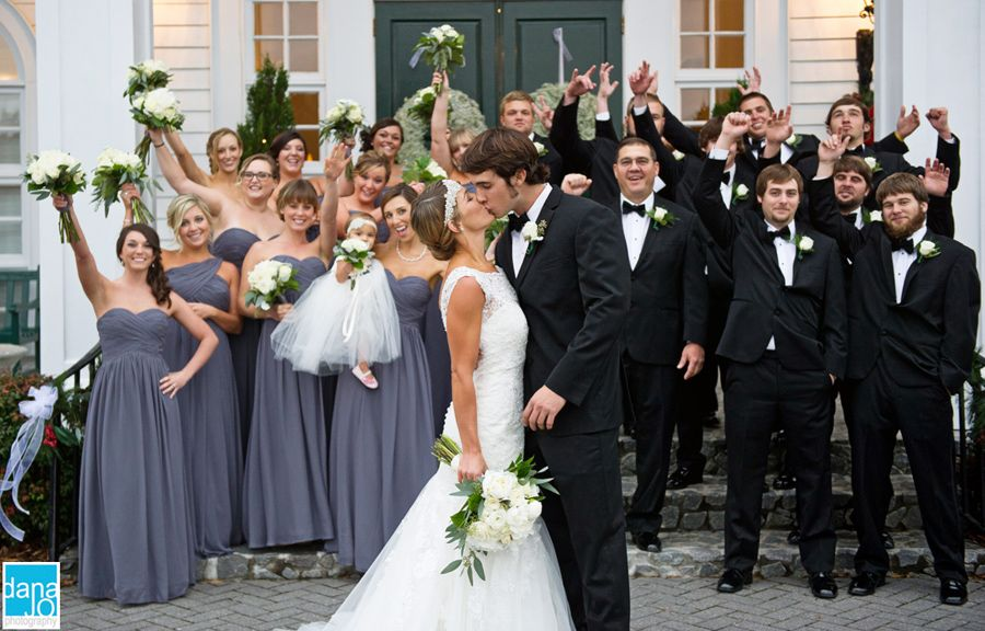 Pewter bridesmaid dress   Our Love Story C + M   Pinterest ...