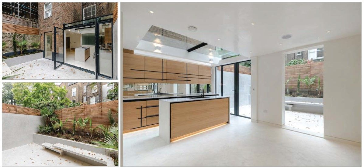 Find your ideal home design pro on designfor-me.com - get matched and see who's interested in your home project. Click image to see more inspiration from our design pros     Design by Rashela, architectural designer from Westminster, London #architecture #homedesign #modernhomes #homeinspiration #kitchens #kitchendesign #kitcheninspiration #kitchenideas #kitchengoals #extensions #extensiondesign #extensioninspiration #extensionideas #houseextension #minimalistarchitecture #minimalistdecor