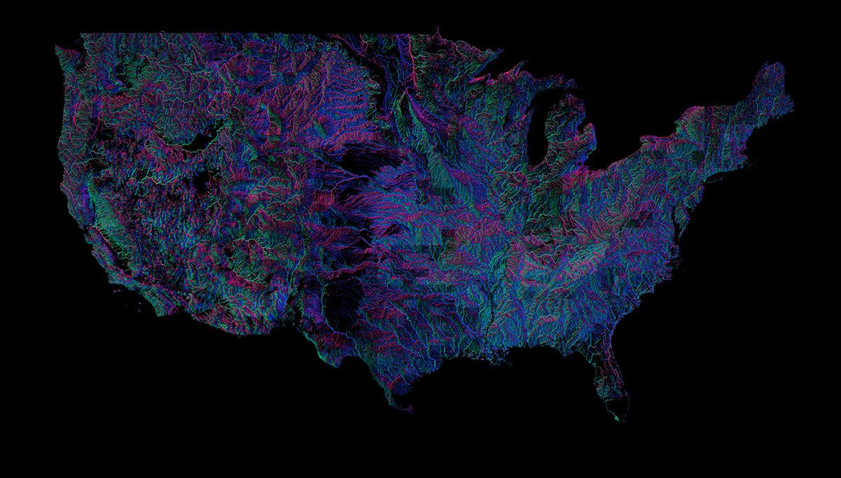 Go With The Flow See All  Rivers In The US Environment - Us rivers interactive map