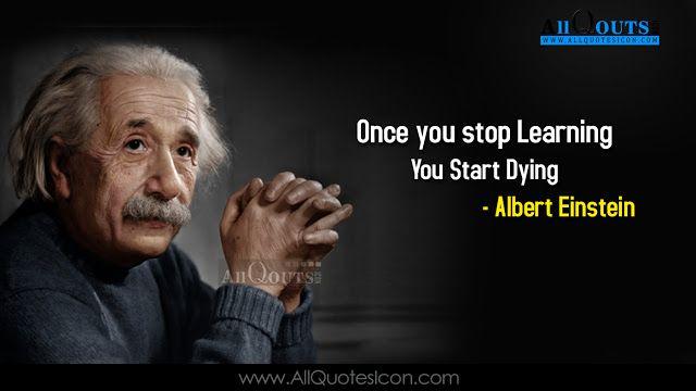 Albert Einstein English Quotes Images Best Inspiration Life