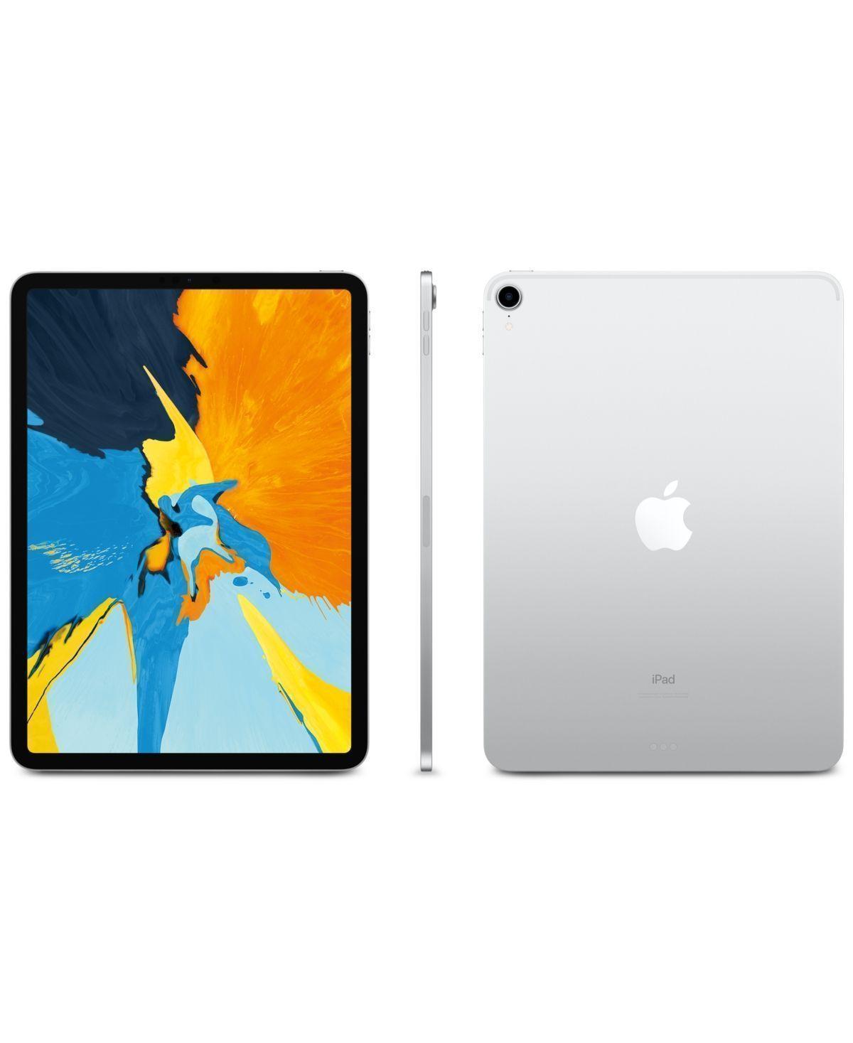 Apple 11 Inch Ipad Pro Wi Fi 512gb Silver Apple Ipad Ipad Pro Apple Ipad Pro