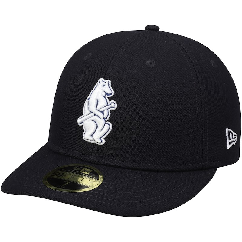 7393927f4f740 Chicago Cubs New Era Cooperstown Collection Fan Retro 59FIFTY Fitted Hat –  Navy