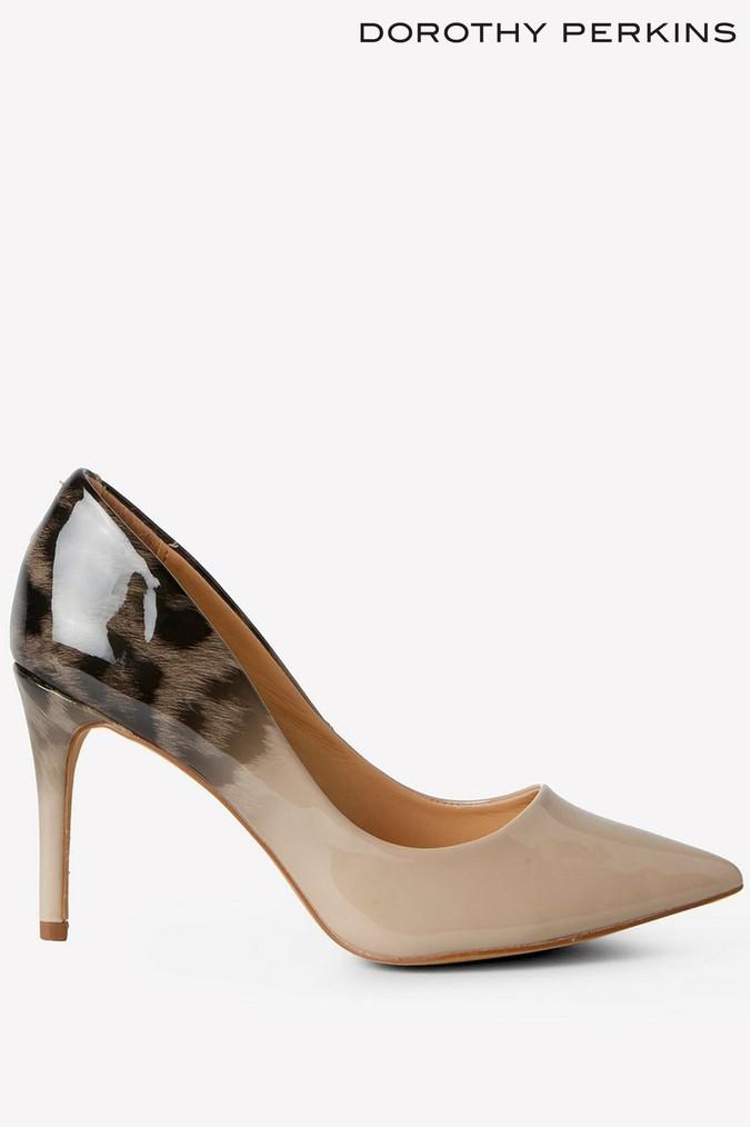 Womens Dorothy Perkins Ombre Court Heels Pink Court Heels Heels Pink Heels