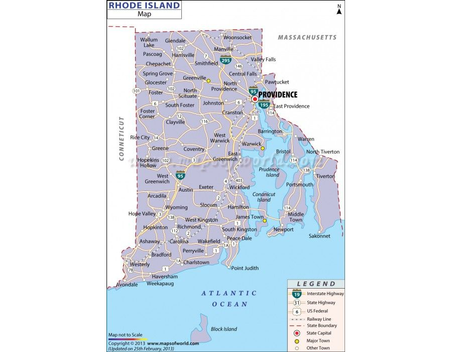 Buy Map of Rhode Island Online Download Online Rhode Island