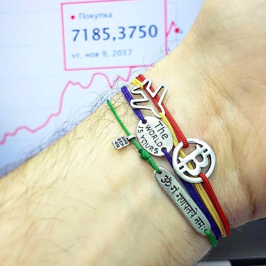 Bitcoin bracelet bitcoin jewelry crypto currency