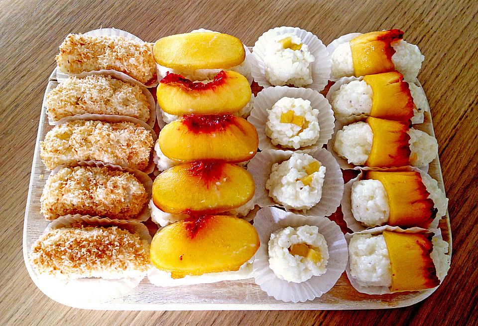 Sushi mal anders - süß als Dessert von knusperflocken | Chefkoch
