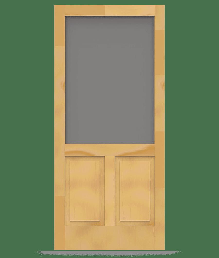 Pioneer Wood Screen Door Wood Screen Door Painted Screen Doors
