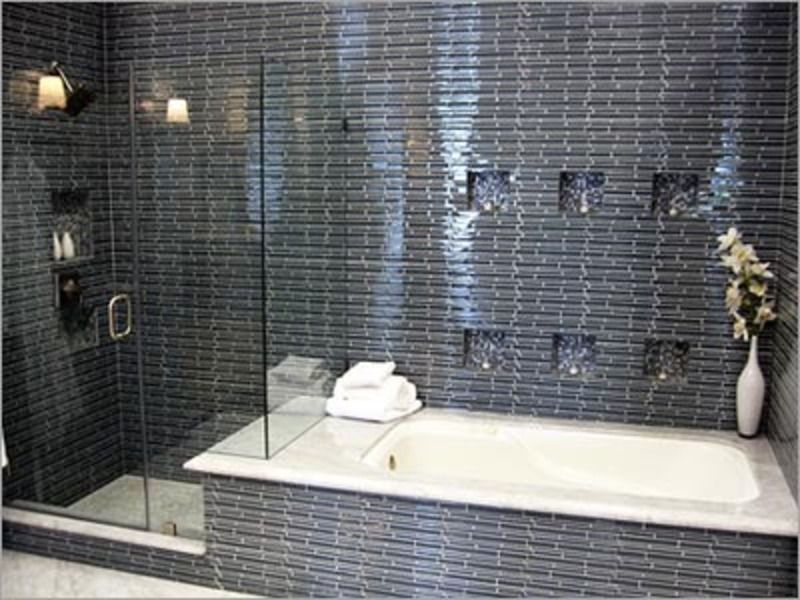 separate bath and shower in small bathroom google search - Design For Small Bathroom With Shower