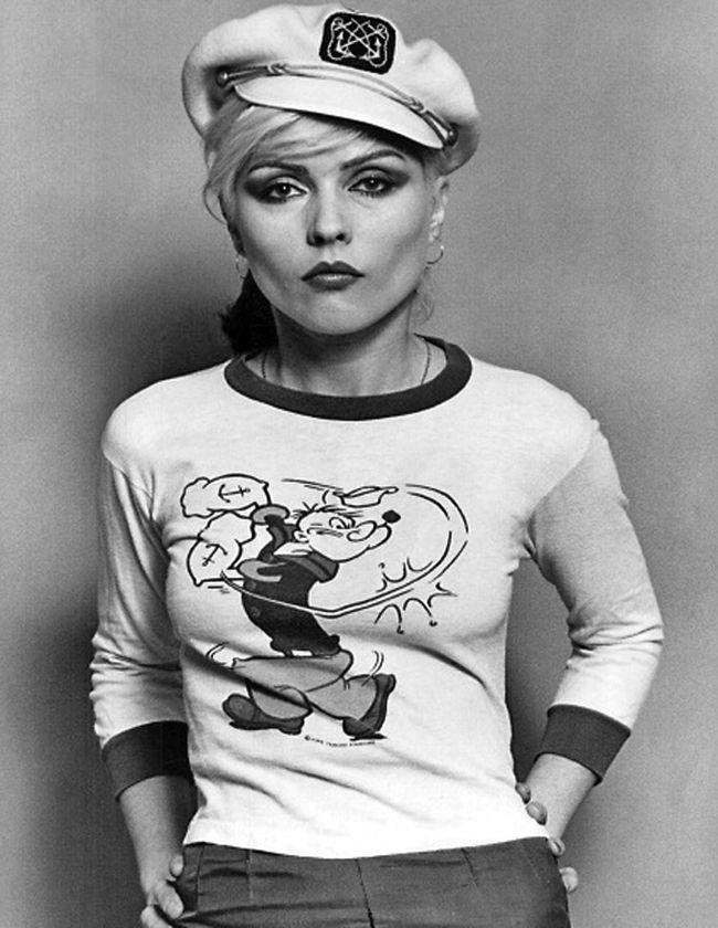 Deborah Harry , Popeye and sailor hat