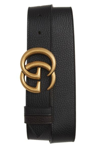 6866fb3f630 GUCCI Gg Marmont Reversible Leather Belt.  gucci