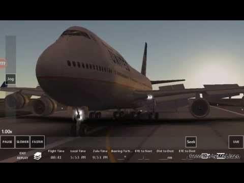 Infinite Flight Tutorial Autopilot Landing LAX R 07L 747-400