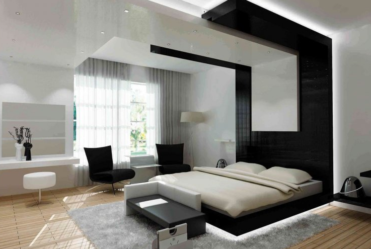 Ultra modern bedrooms interior white bedroom design - Ultra contemporary bedroom furniture ...