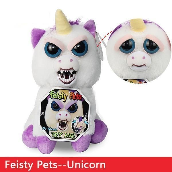 Feisty Pets Plush Stuffed Toys With Expressions Dog Stuffed Animal Cute Stuffed Animals Plush Dog Toys