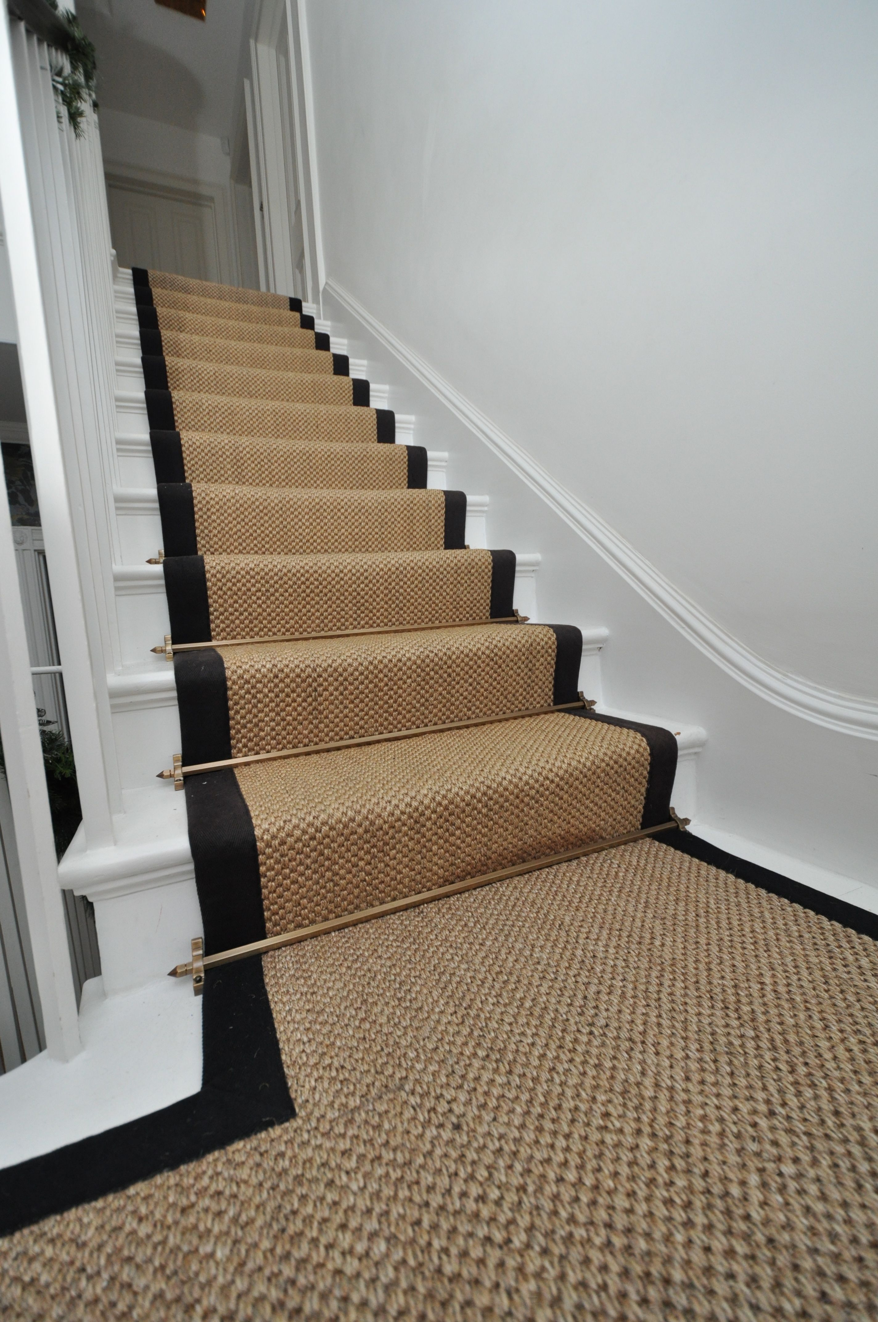 4 068 Sisal Stair Runners Bowloom Sisal Stair Runners With Binding