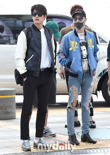 160601 #Minho #Taemin #2min - Incheon International Airport to Paris
