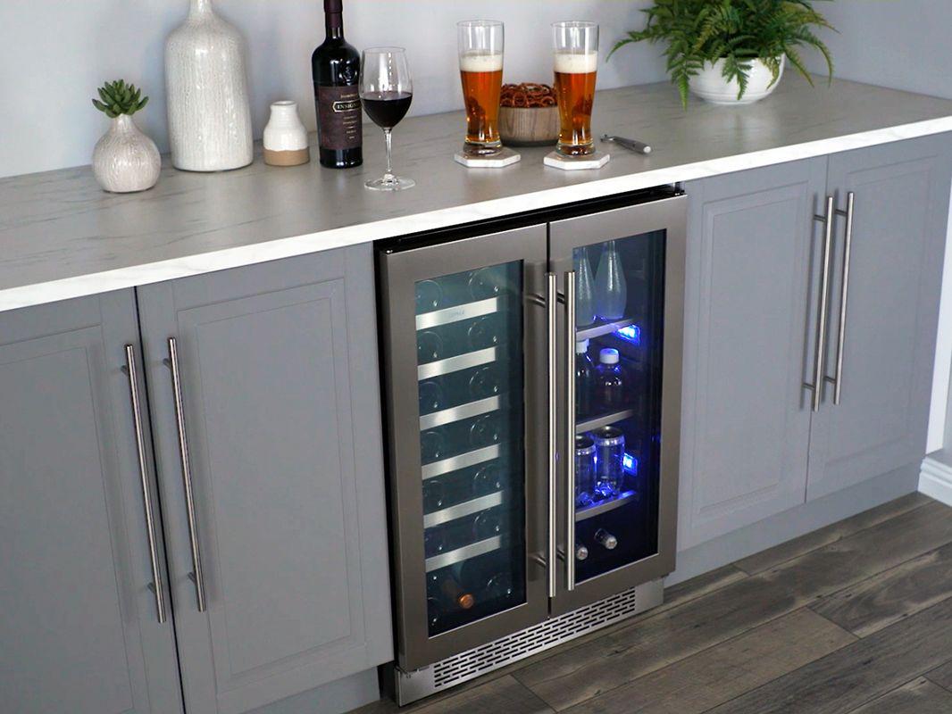 The Presrv French Door Wine Beverage Cooler Is The Ultimate In