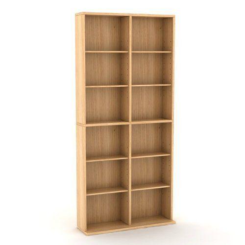 Wooden DVD Storage Multimedia Tower Rack Display Cabinet Set