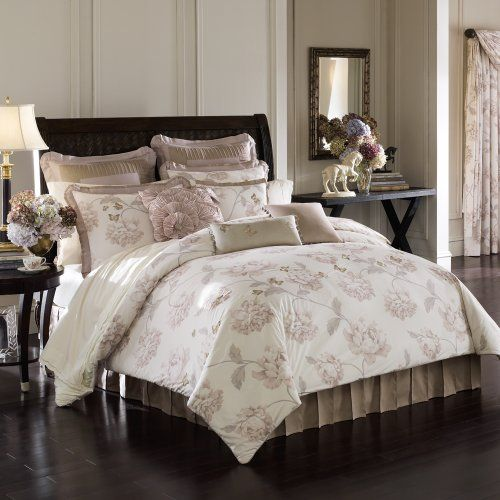 Delightful Lenox Butterfly Meadow Comforter Set Queen A | Reviews Description A Finely  Printed Trellis Of Roses