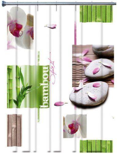 duschvorhang orchid e rideau de douche rose orchid e. Black Bedroom Furniture Sets. Home Design Ideas
