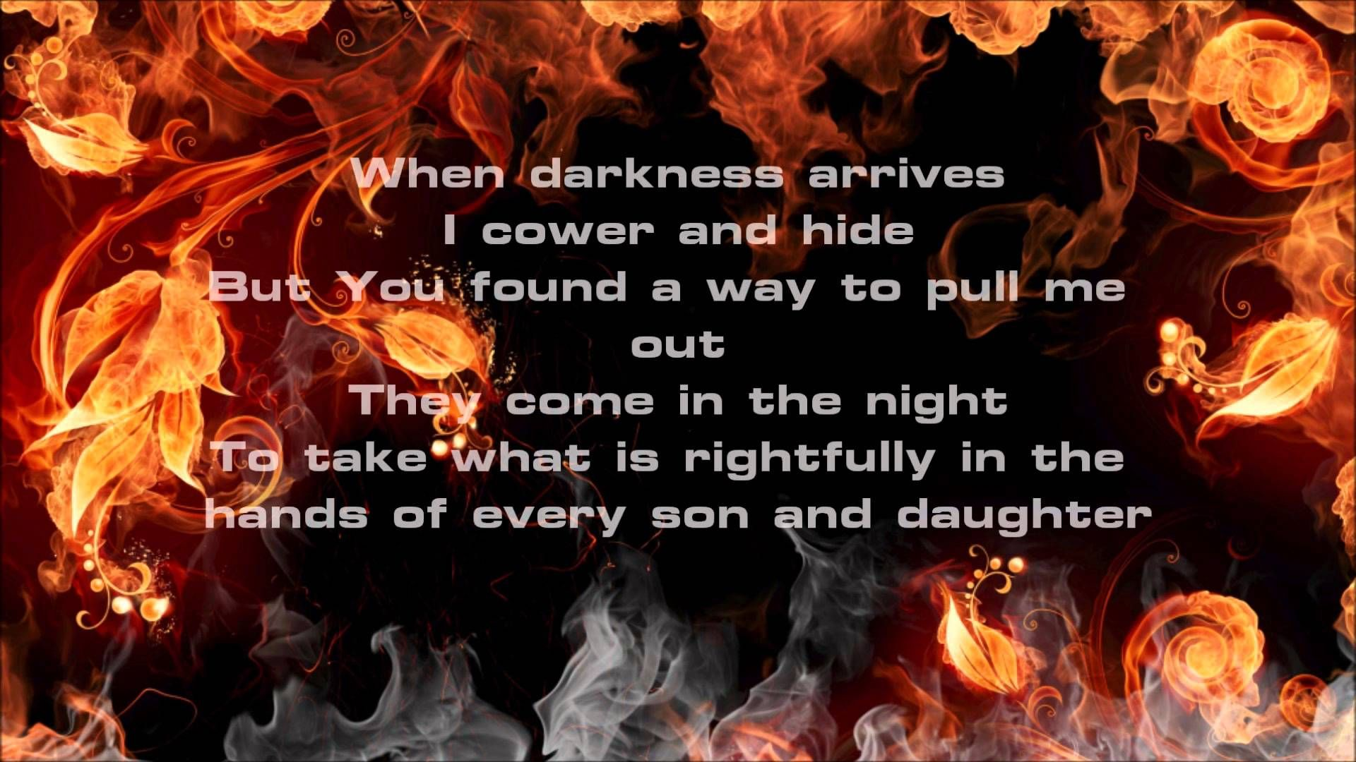Nine Lashes- Never Back Down w/Lyrics by Harrison Hiebert on