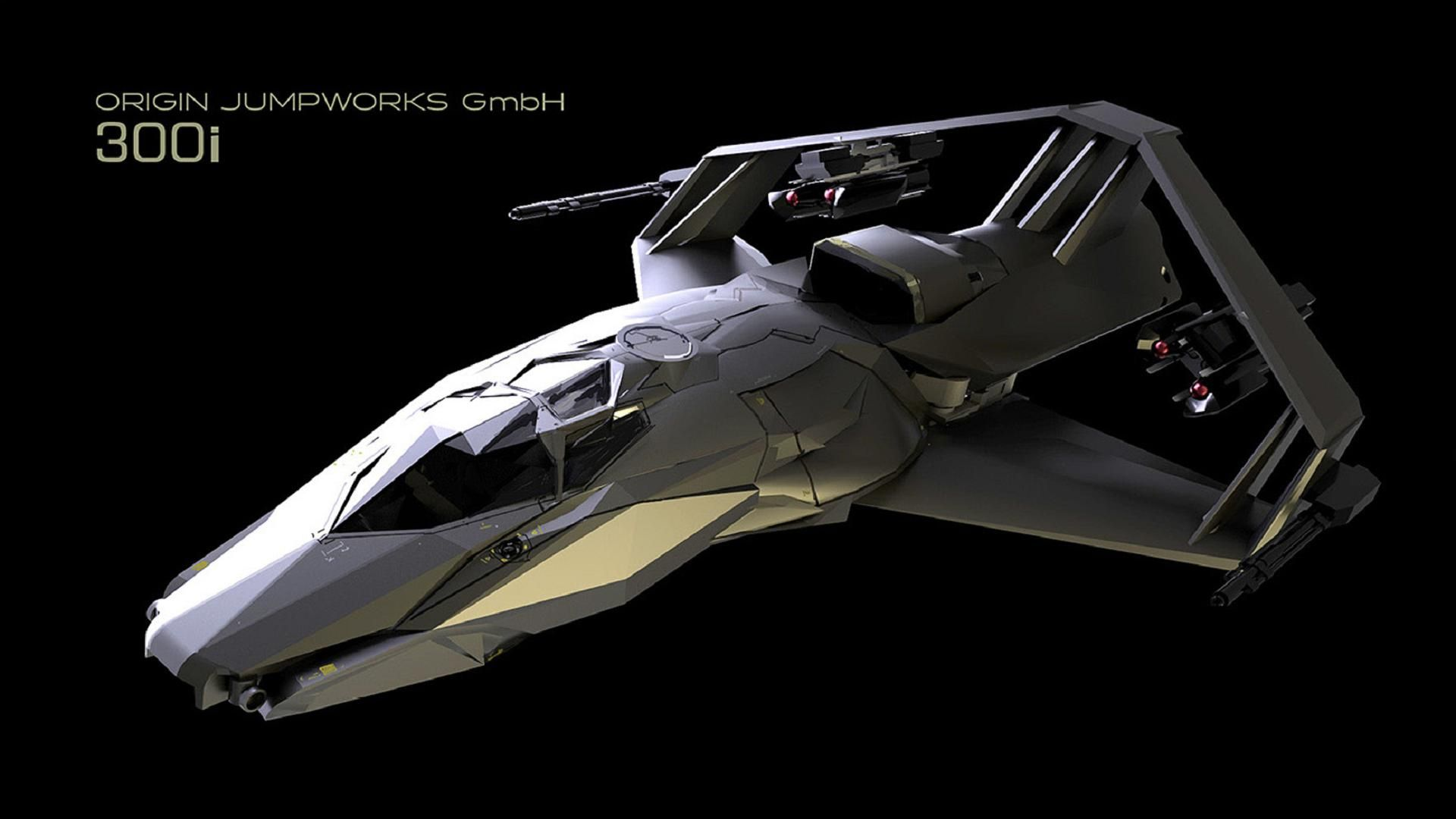 Star Citizen Fighter Star Citizen Space Fighter Spaceship Concept