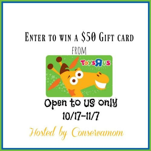 $50 Toys R US Gift Card Giveaway! (11/7){US} via... sweepstakes IFTTT reddit giveaways freebies contests