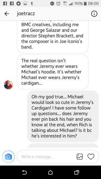 Thank You Joe Tracz Be More Chill In 2019 Pinterest Be