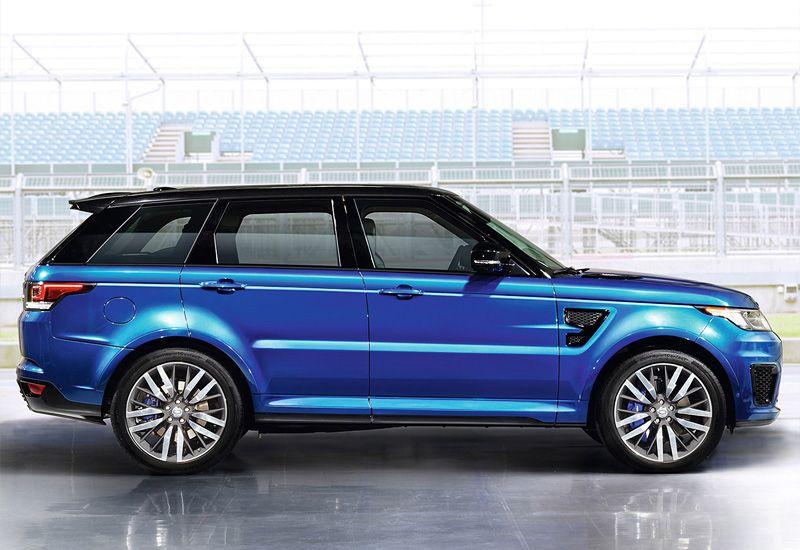 2014 Land Rover Range Rover Sport SVR specifications