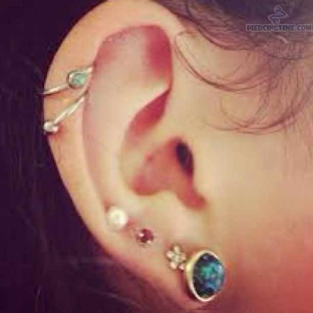 cartilage ear piercing - Google Search