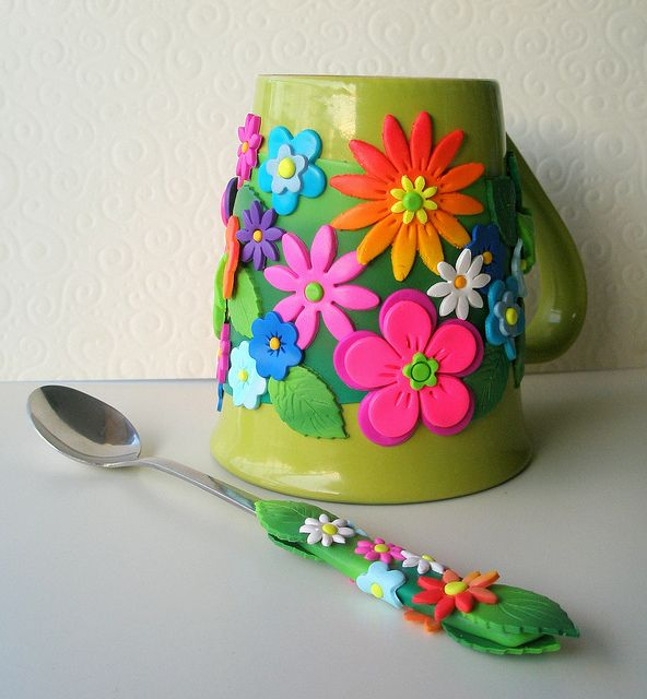 Primavera Mug Everything Polymer Clay Pinterest