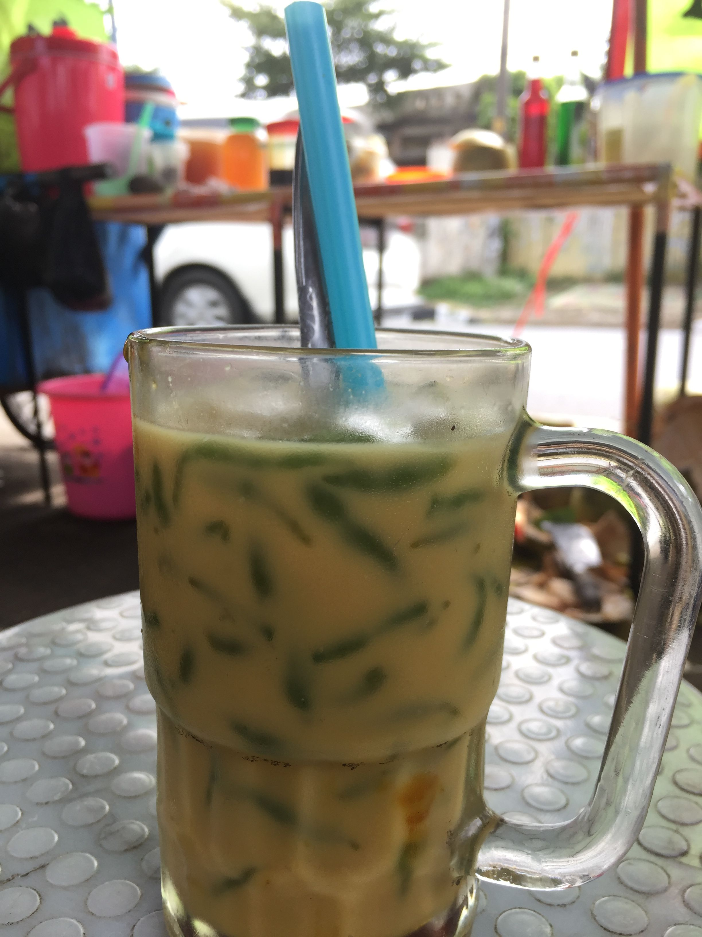 Dawet thiss traditional drink from central java indonesia