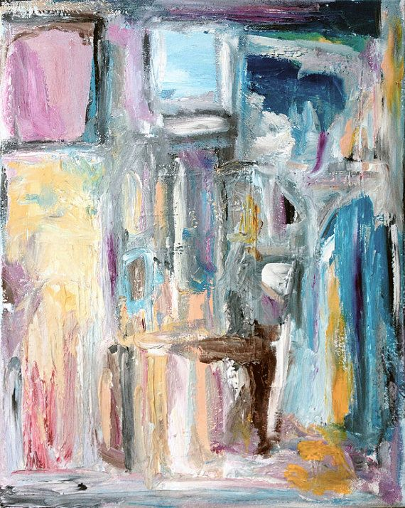 Window of opportunity abstract expressionist art Art