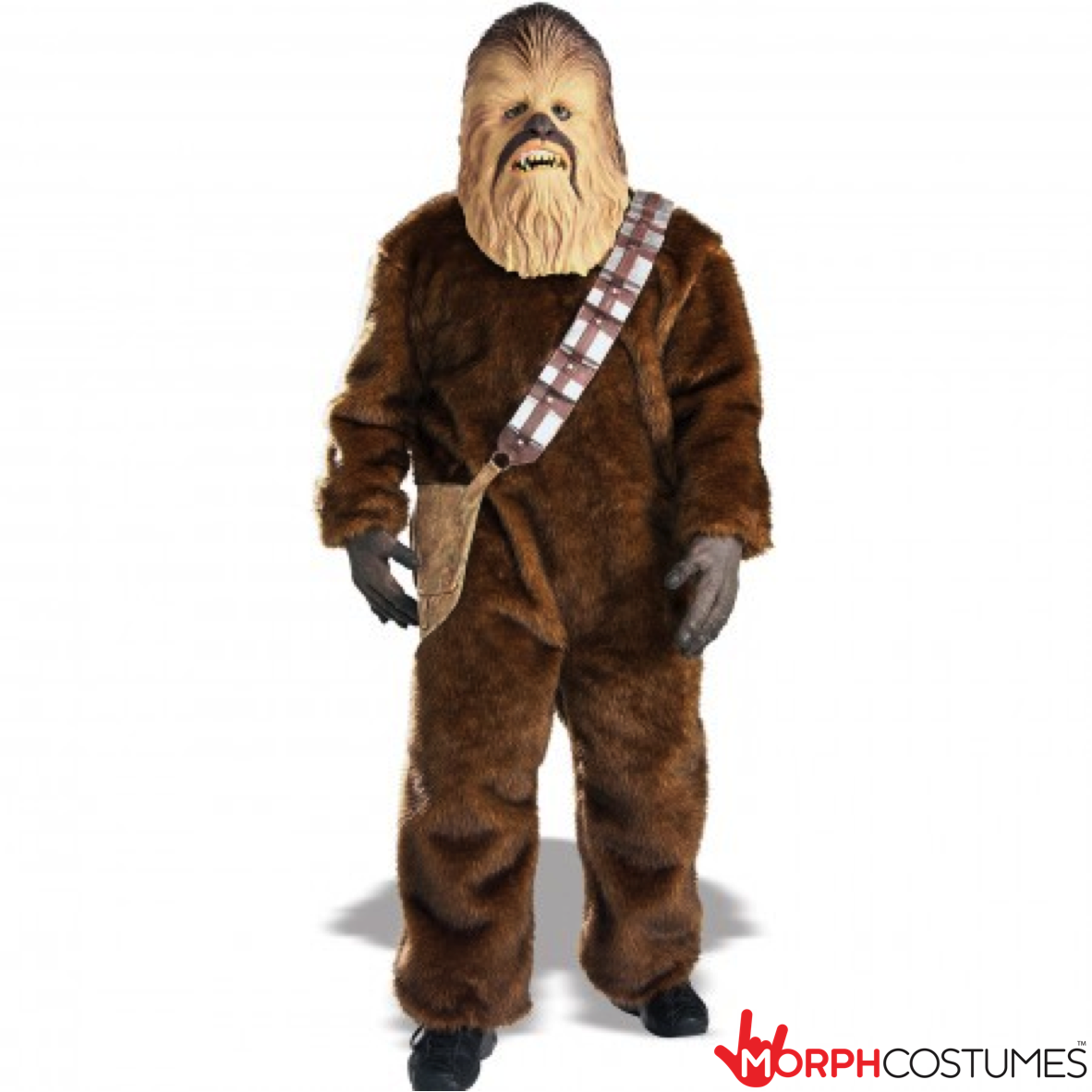 Star wars fancy dress costumes get yourself a star wars chewbacca morph costumes us solutioingenieria Choice Image
