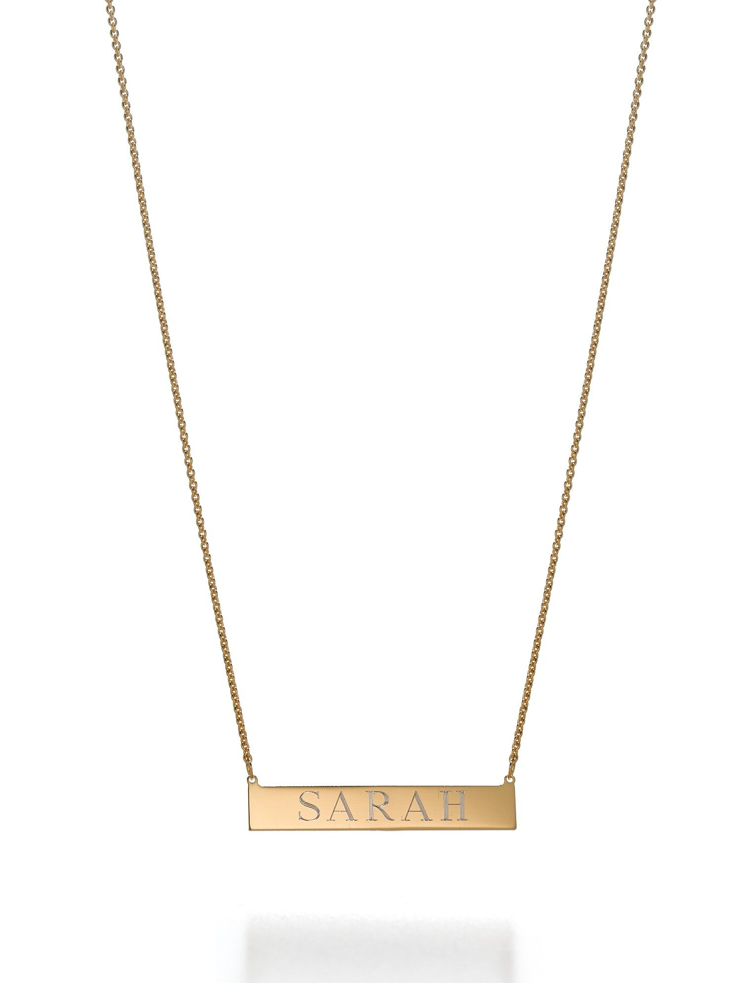 509640895391bc Leigh id necklace   You Fancy Huh   Jewelry, Lowercase a, Gold necklace