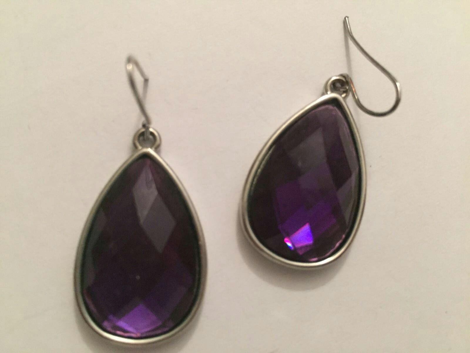 Ohrringe Violet  Earrungs Violet