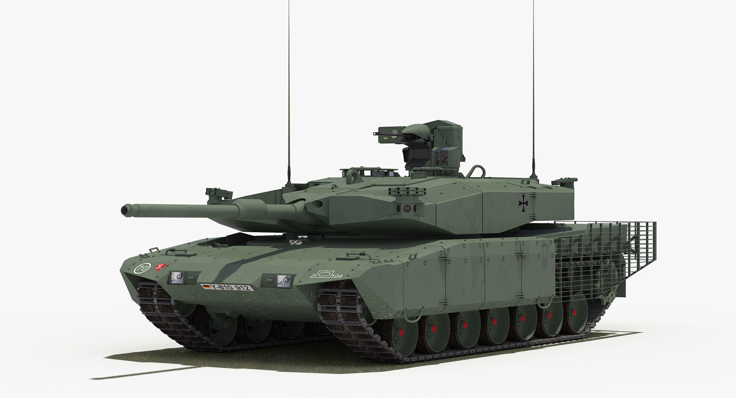 65d7da6dd930 Leopard 2 Mbt Revolution 3D Model - 3D Model