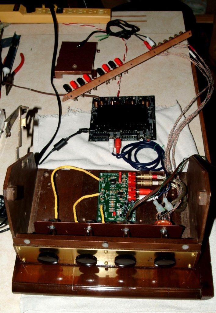 possible board usage Stereo console, Record console