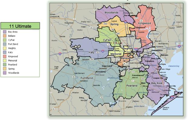 Map Of Houston Area Maps Houston Texas