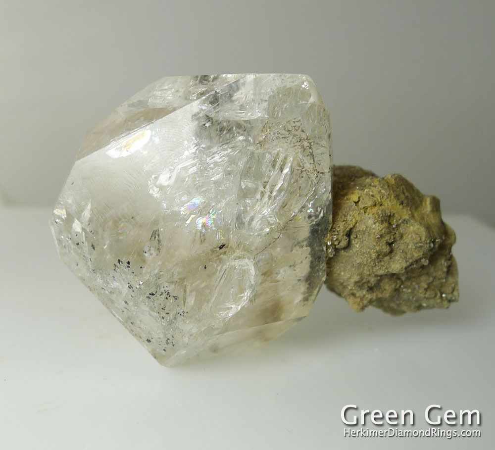 Herkimer Diamond Large Natural Uncut Crystal With Raw ...