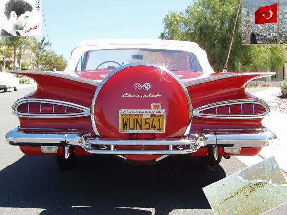 En Sevdiğim Araba üstü Açık Impala 1959 Impala Classic Otomobil