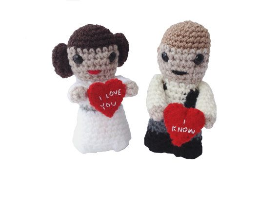 Great Valentine Gift For A Star Wars Fan! Star Wars Han Solo And Princess  Leia
