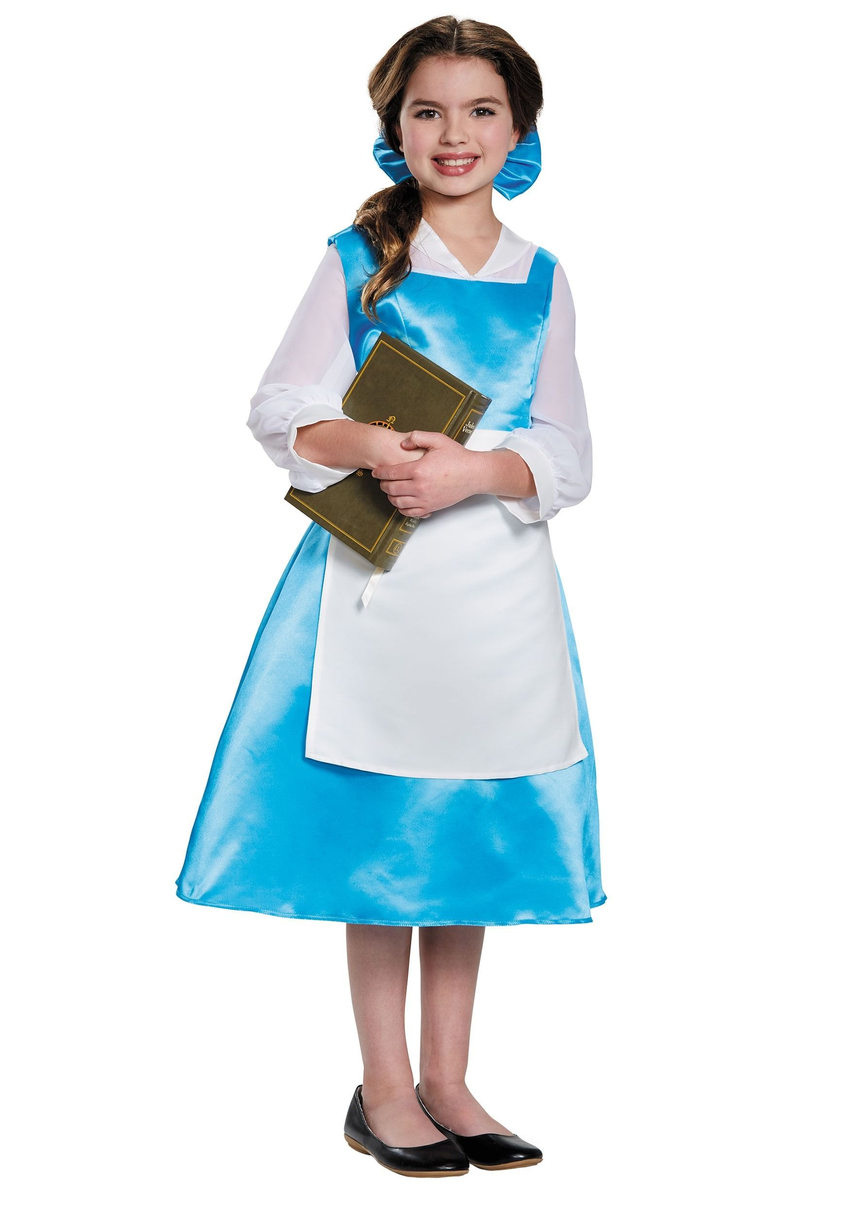 Blue dress belle costume storybook good style dresses pinterest