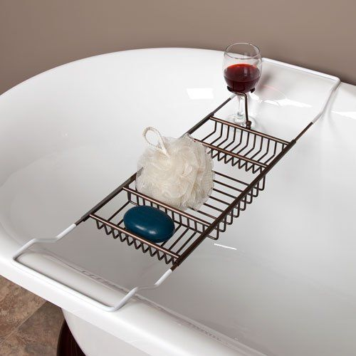 Now That I Have A Clawfoot Tub I Need This Tub Caddy