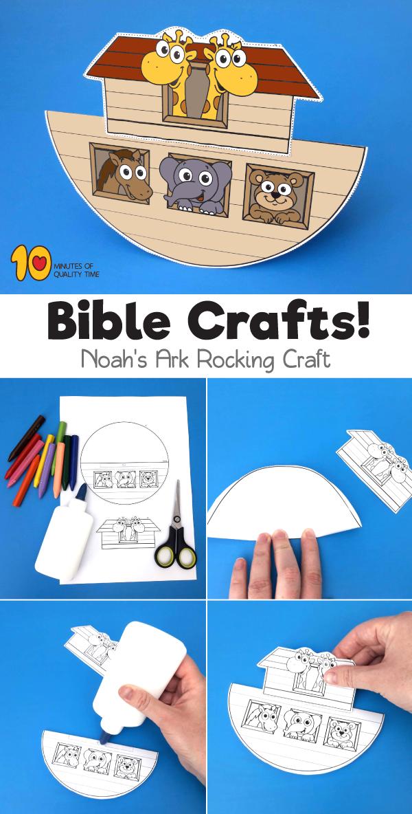 Rocking Noah S Ark Craft Ark Craft Noahs Ark Craft Sunday