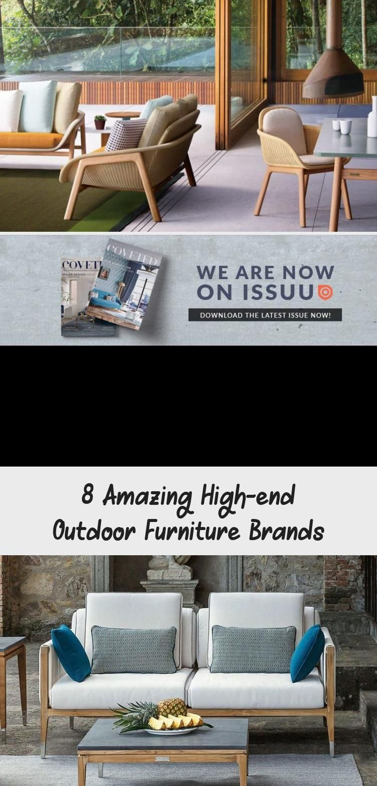 8 Amazing High End Outdoor Furniture Brands Furniture House Design Outdoor Furniture Sets