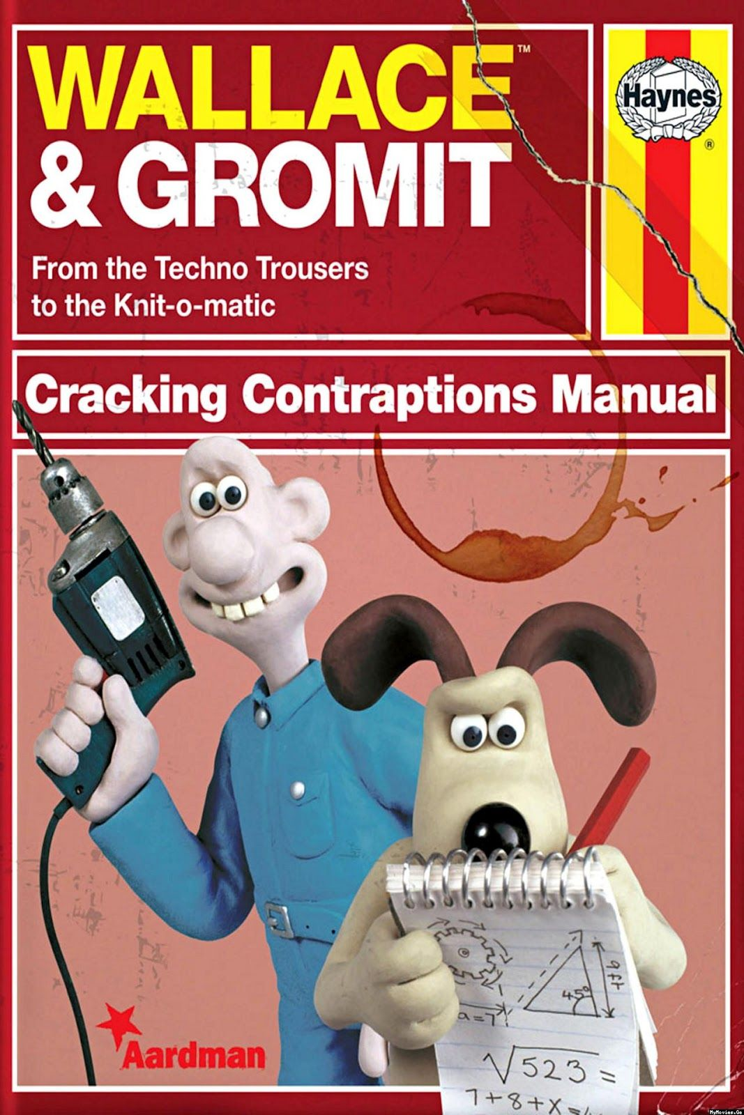 Wallace And Gromit Cracking Contraptions Manual I Wish This Manual Existed Wallace Aardman Animations Shaun The Sheep